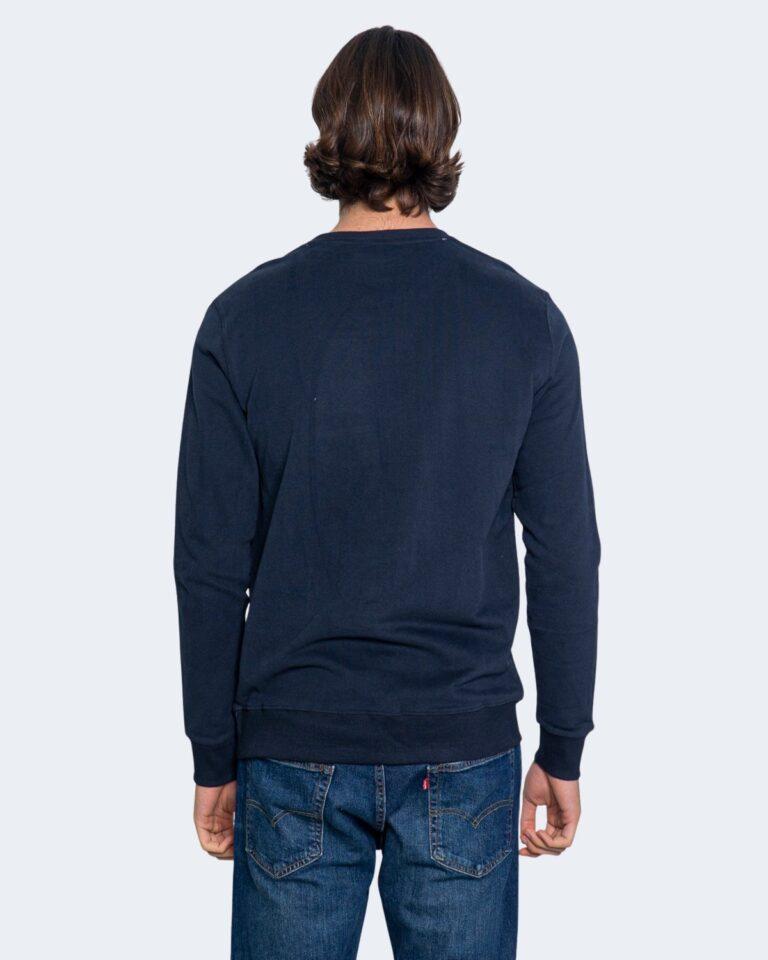 Felpa senza cappuccio Calvin Klein Jeans SWEATSHIRT Blu - Foto 3