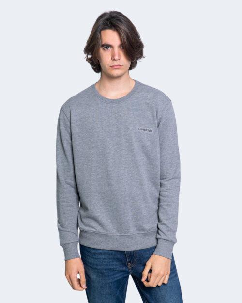 Felpa senza cappuccio Calvin Klein SWEATSHIRT Grigio – 65248