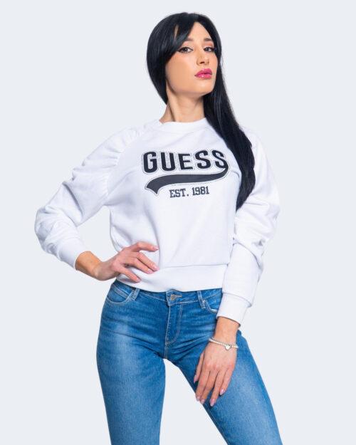 Felpa senza cappuccio Guess DESIREE FLEECE Bianco – 64149
