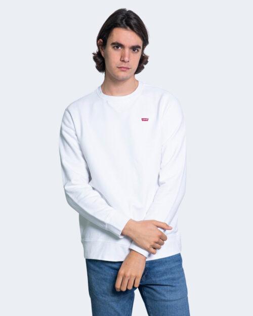 Felpa senza cappuccio Levi's® New Original Crew Bianco – 53405