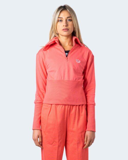 Felpa senza cappuccio Adidas Half-Zip Long Sleeve Pesca – 61212