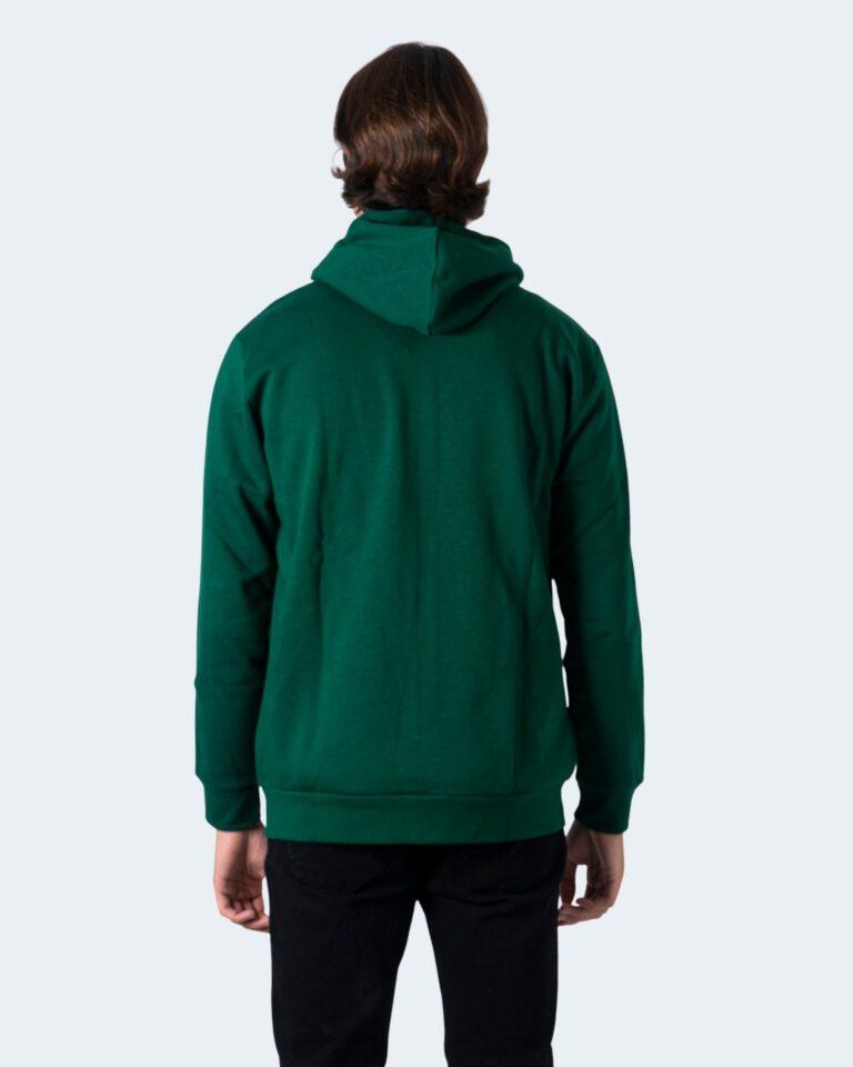 Felpa con cappuccio Adidas 3-STRIPES Verde - Foto 3
