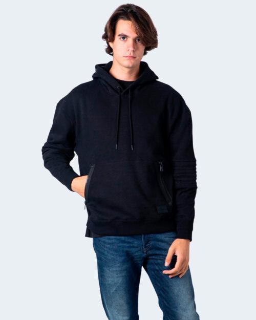 Felpa con cappuccio Calvin Klein MOTO ZIP HOODIE Nero – 54830