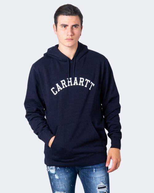 Felpa con cappuccio Carhartt Wip HOODED UNIVERSITY Blue scuro – 59327