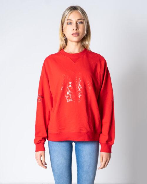 Felpa senza cappuccio Desigual SWEAT MALAUI Rosso – 52111