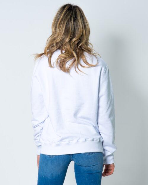 Felpa senza cappuccio Nasa Logo frontale Bianco - Foto 3