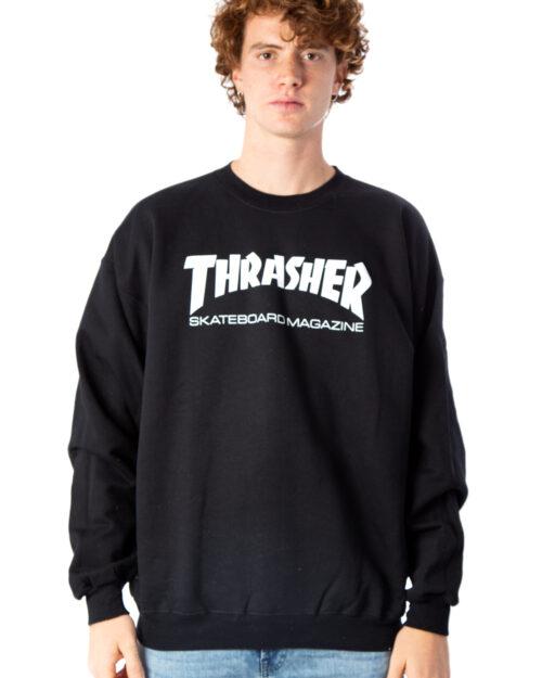 Felpa senza cappuccio Thrasher Skate Mag Crewneck Nero – 39236