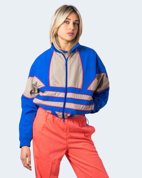 Giacchetto Adidas Track top adicolor Large Logo Blu Chiaro – 61208