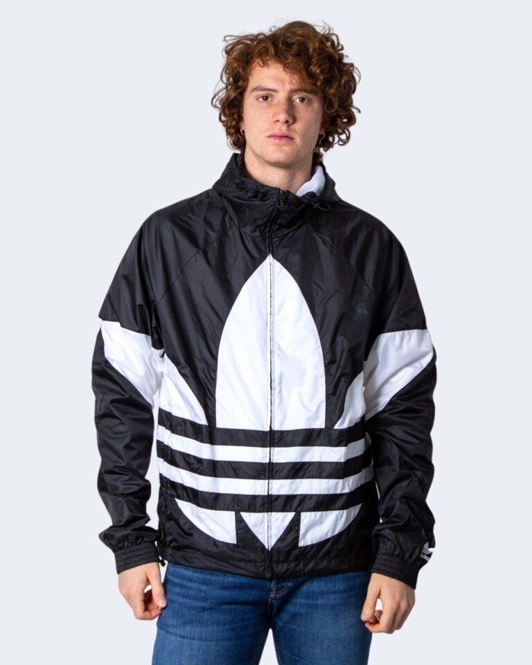 Giacchetto Adidas BIG TREFOIL Nero - Foto 1