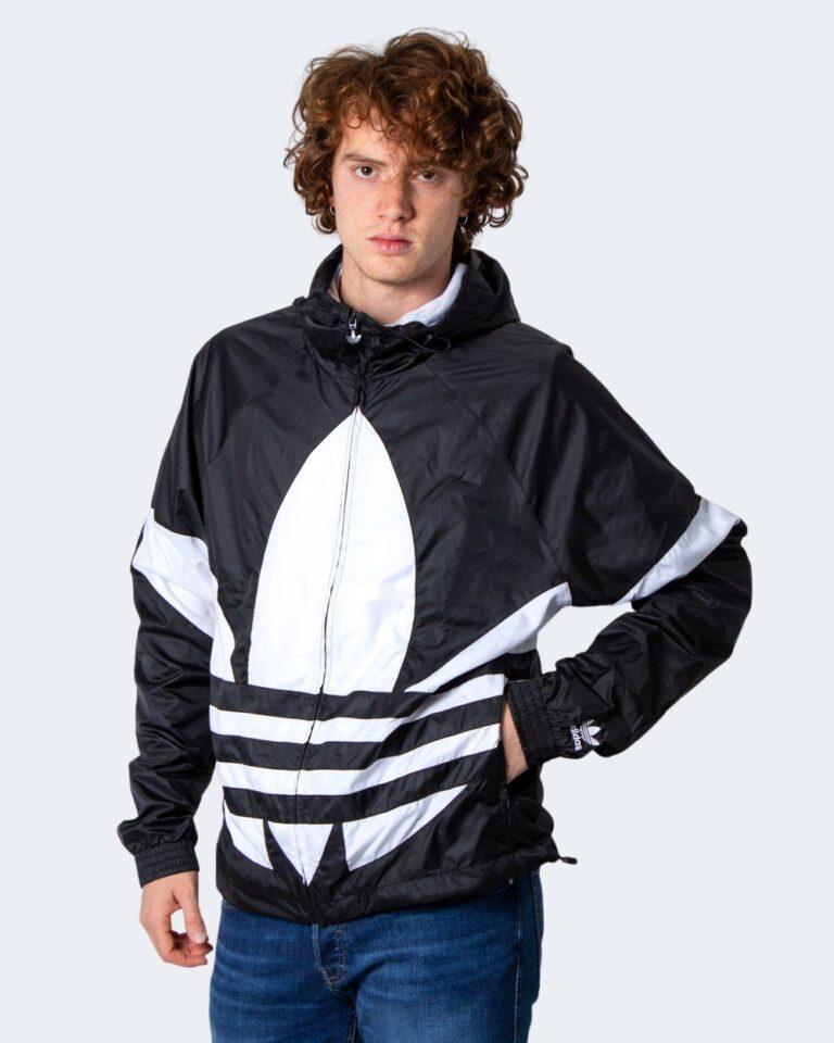 Giacchetto Adidas BIG TREFOIL Nero - Foto 3