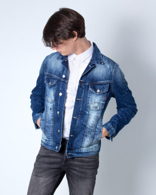 Giacchetto Antony Morato Hendrix Slim fit Blue Denim – 40582