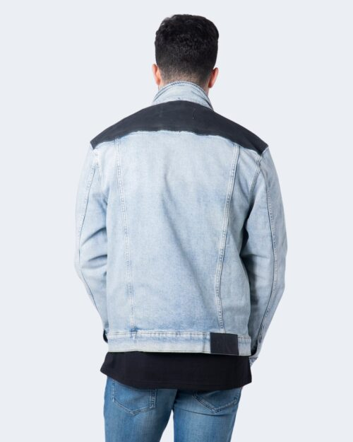 Giacchetto Calvin Klein Jeans 90S DENIM Denim chiaro - Foto 3