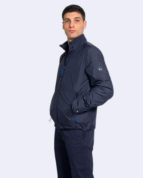 Giacchetto Harmont&blaine LOGO COLLO Blue scuro – 67563