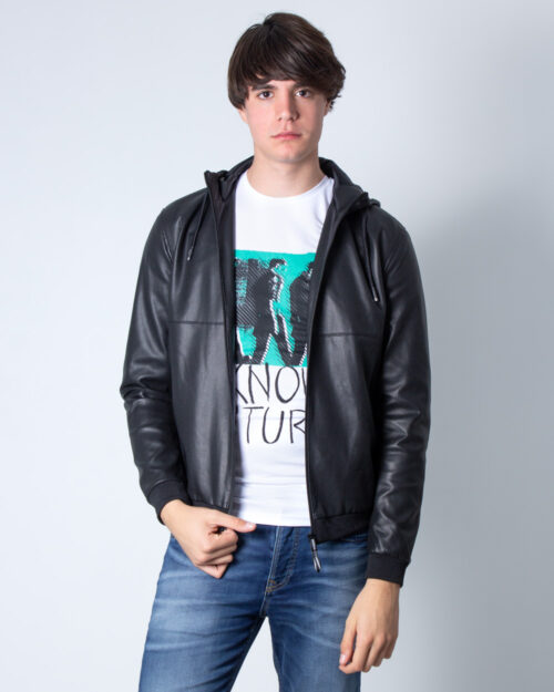 Giacchetto Only & Sons Nicki Perforated PU Jacket Otw Nero – 40537