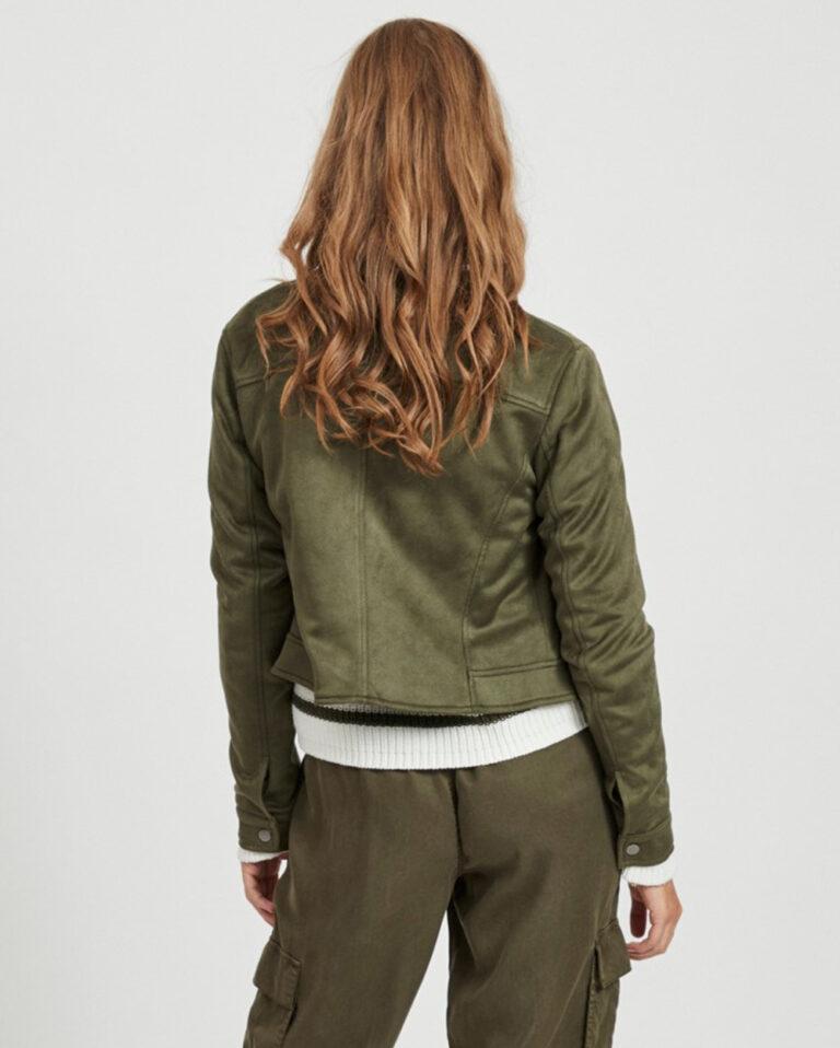 Giacchetto Vila Clothes Ghita Short jacket/tb Verde - Foto 2