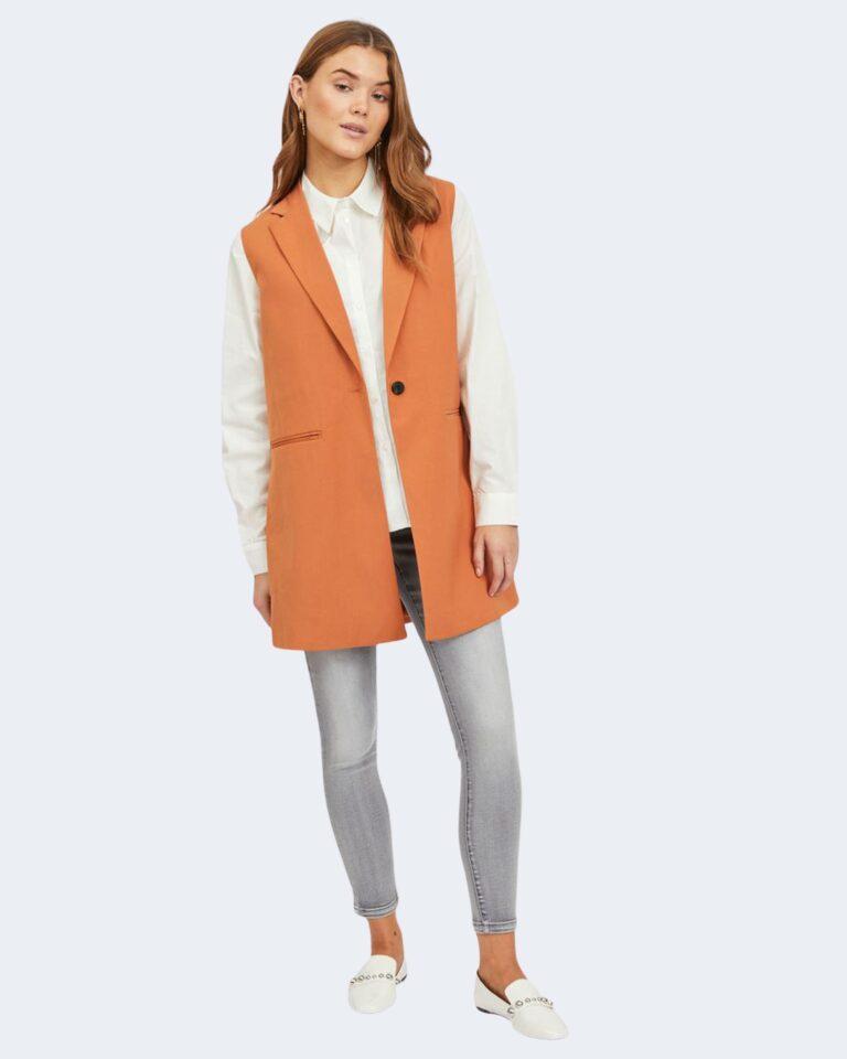 Gilet da completo Vila Clothes JANINE Arancione - Foto 2