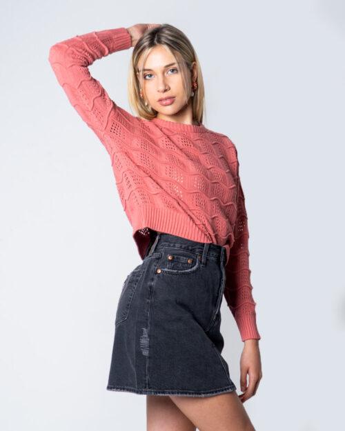 Minigonna Levi's® HR Decon Iconic BF Skirt Grigio Scuro – 52026