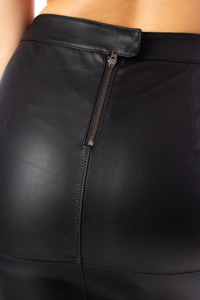 Minigonna Vila Clothes VIPEN NEW SKIRT Nero - Foto 4