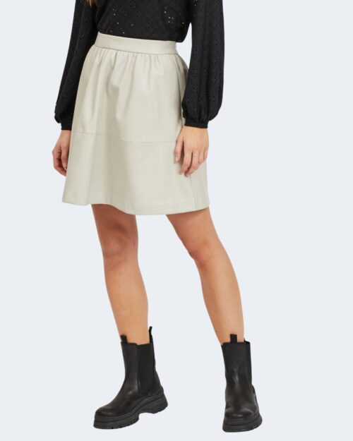 Minigonna Vila Clothes CHOOSY Grigio Chiaro – 62971