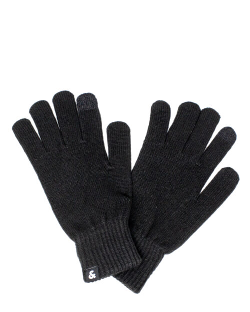 Guanti Jack Jones BARRY KNITTED GLOVES NOOS Nero – 34448