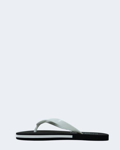 Infradito Calvin Klein Jeans FF SANDALS Bianco - Foto 3
