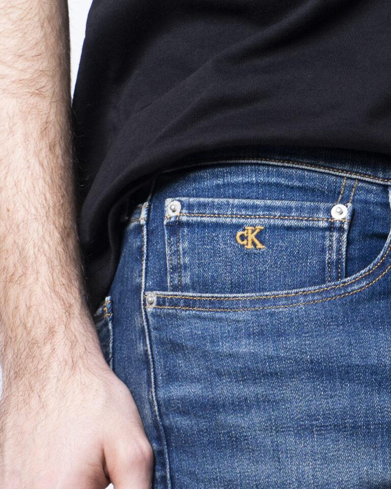 Jeans slim Calvin Klein Jeans - Denim - Foto 4