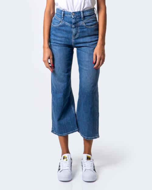 Jeans larghi Calvin Klein SUPER HIGH RISE WIDE LEG CROP Denim – 53847