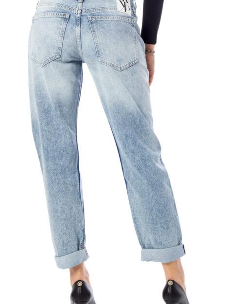 Jeans mom Calvin Klein Ckj 061 mid Rise Boy Denim chiaro – 39153