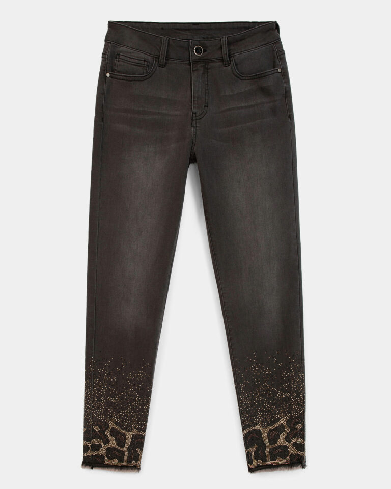 Jeans skinny Desigual Denim Shelley Grigio Scuro - Foto 3