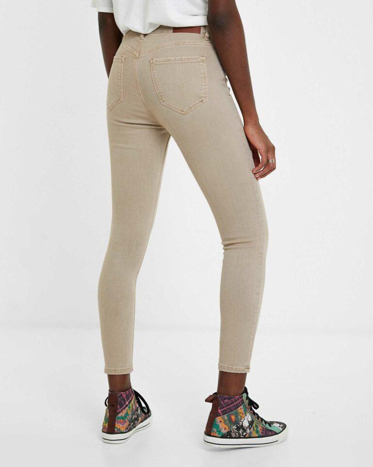 Jeans skinny Desigual Denim Alba Marrone - Foto 3