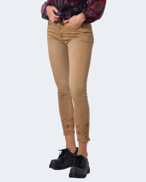 Jeans skinny Desigual PANT BALI Marrone – 54815