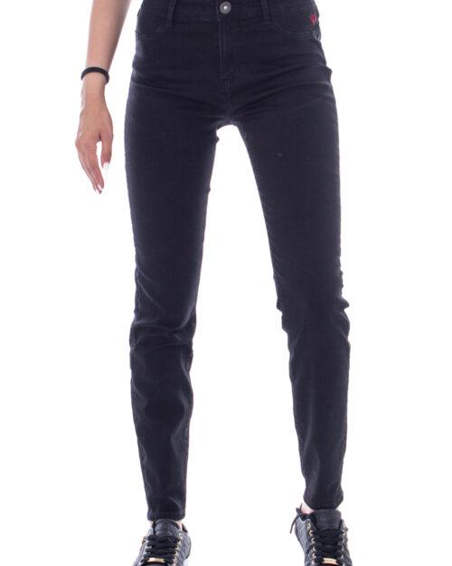 Jeans slim Desigual DENIM BASIC 2ND SKIN Nero – 29741