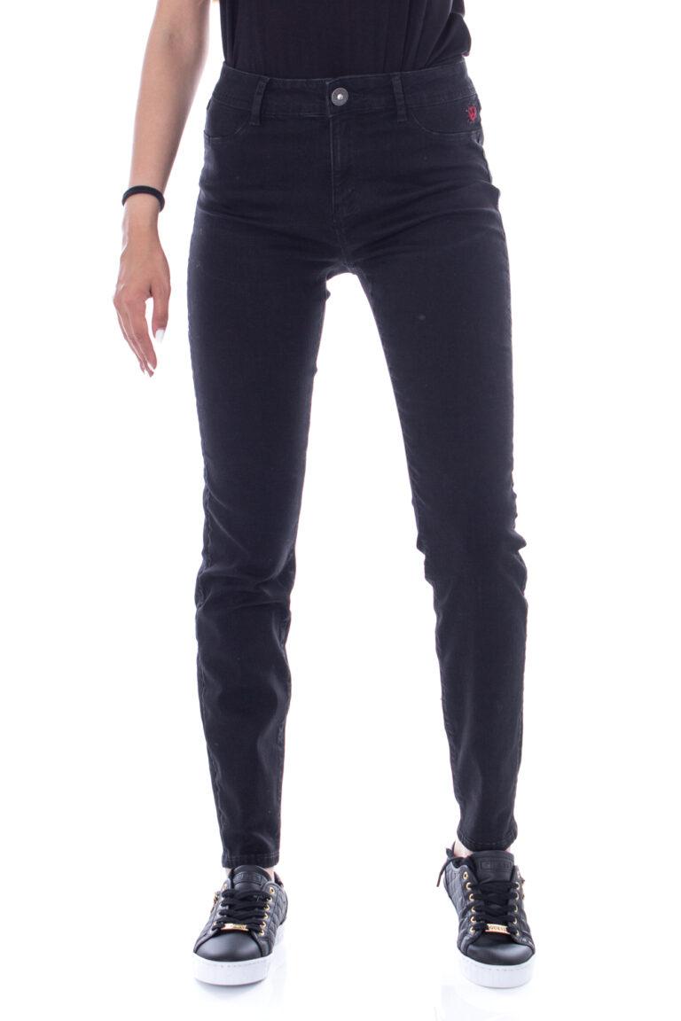 Jeans slim Desigual DENIM BASIC 2ND SKIN Nero - Foto 1
