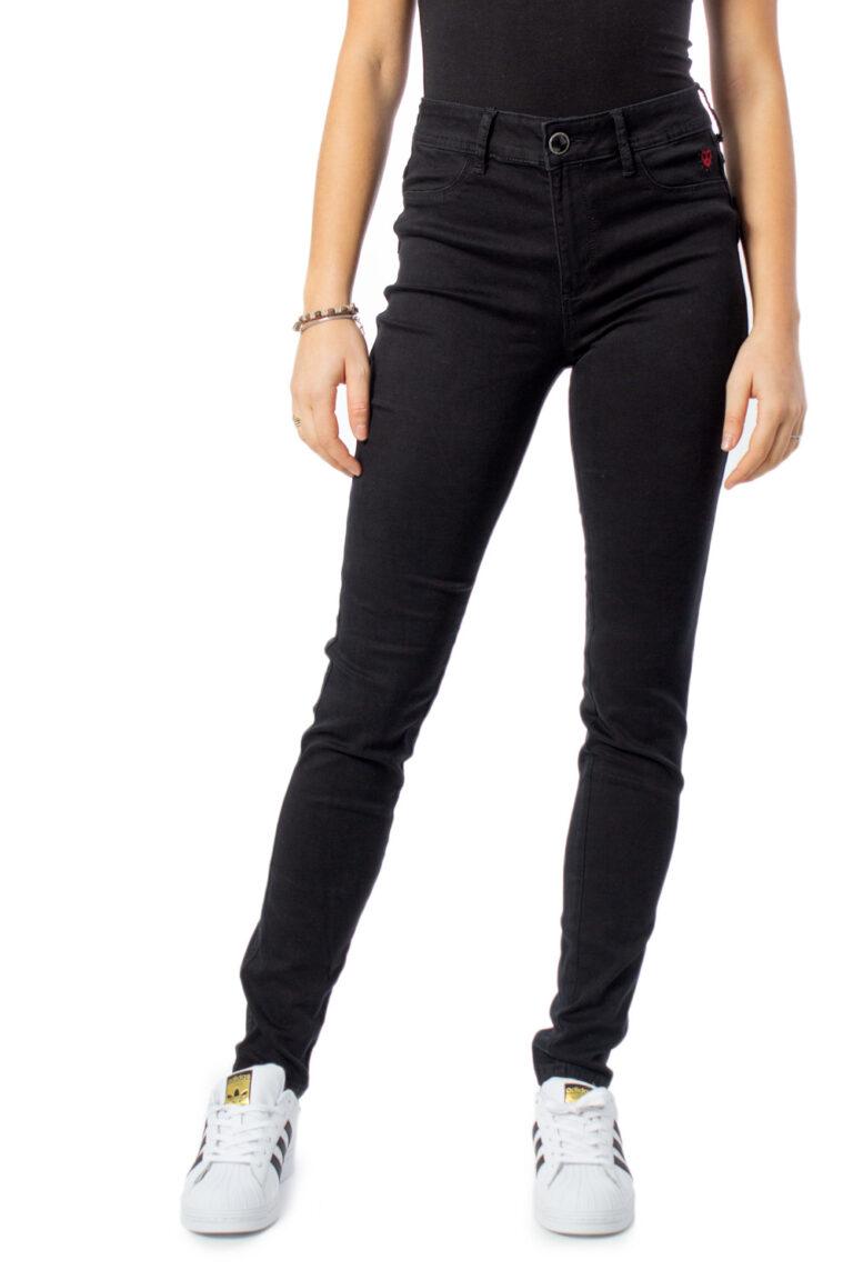 Jeans slim Desigual DENIM TWOSKIN Nero - Foto 1