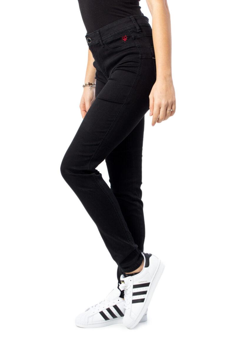 Jeans slim Desigual DENIM TWOSKIN Nero - Foto 2