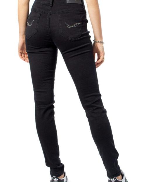Jeans slim Desigual DENIM TWOSKIN Nero - Foto 3