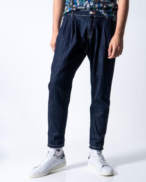 Jeans Tapered Displaj RELAX Denim scuro – 42506