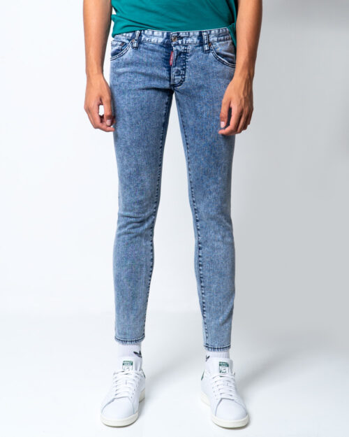 Jeans skinny Dsquared2 Regular clement Blue Denim Chiaro – 51509