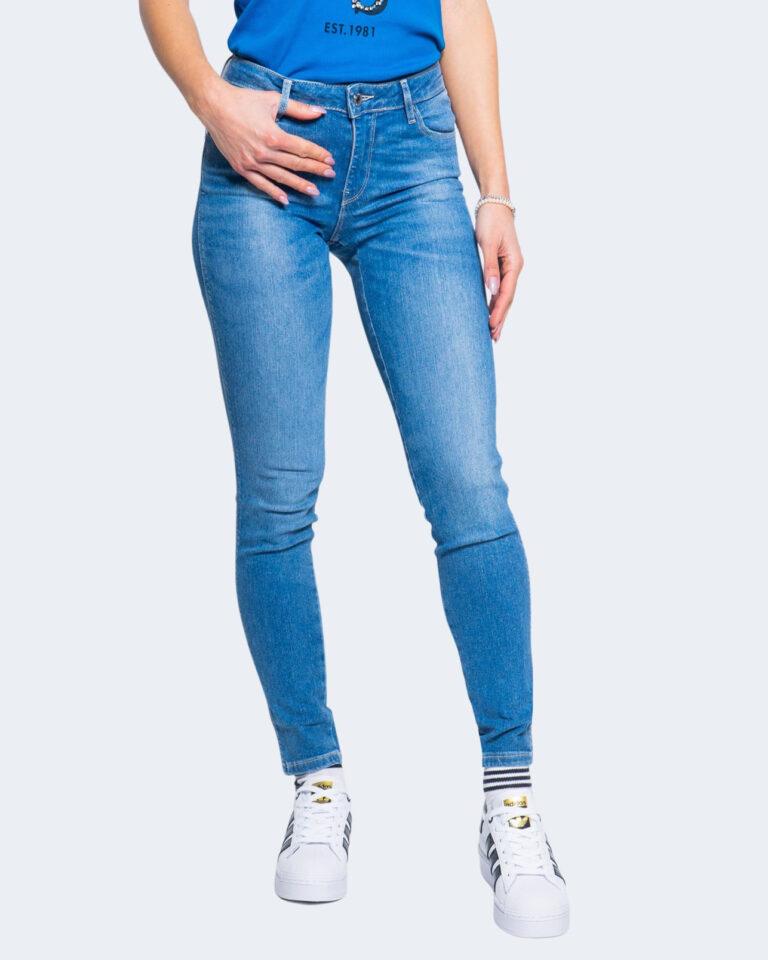 Jeans skinny Guess ULTRA CURVE Denim chiaro - Foto 1