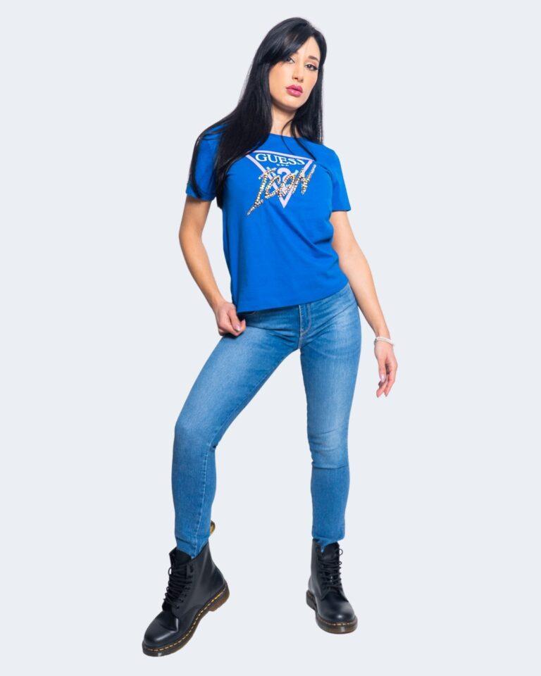 Jeans skinny Guess ULTRA CURVE Denim chiaro - Foto 2