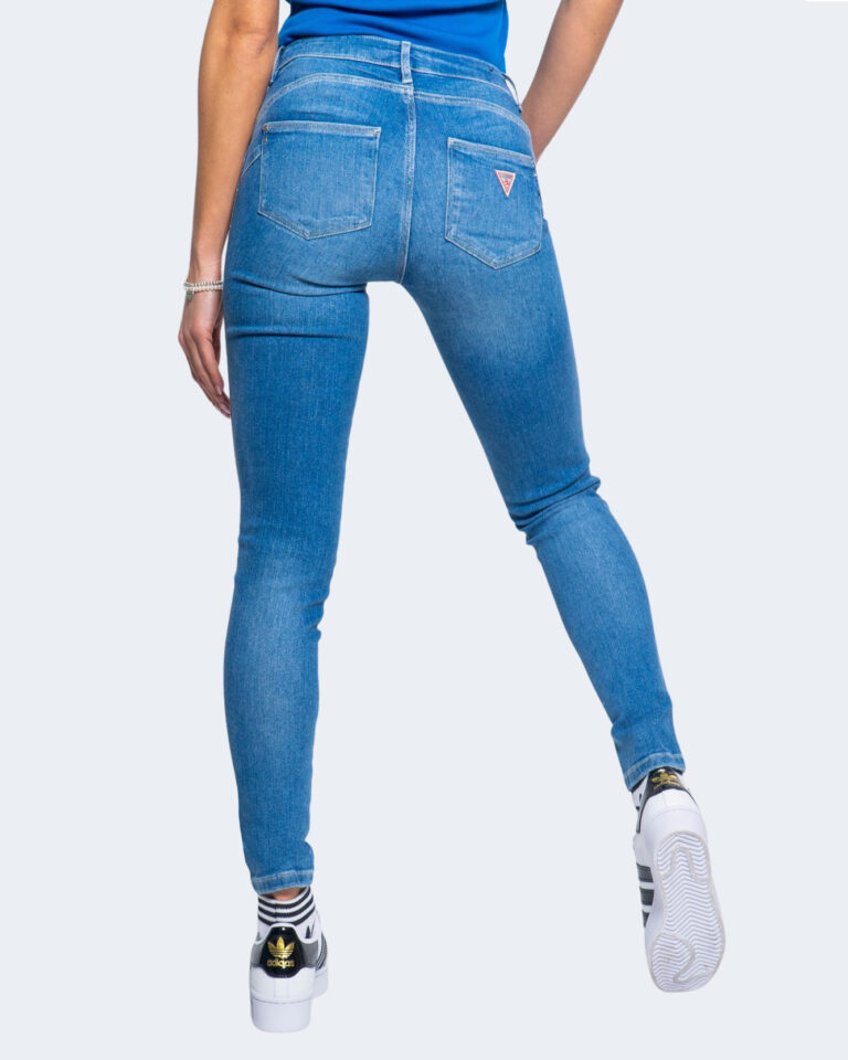 Jeans skinny Guess ULTRA CURVE Denim chiaro - Foto 3