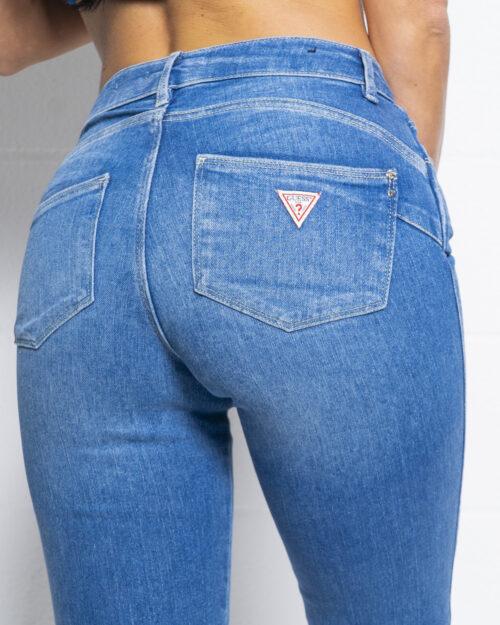 Jeans skinny Guess ULTRA CURVE Denim chiaro - Foto 4