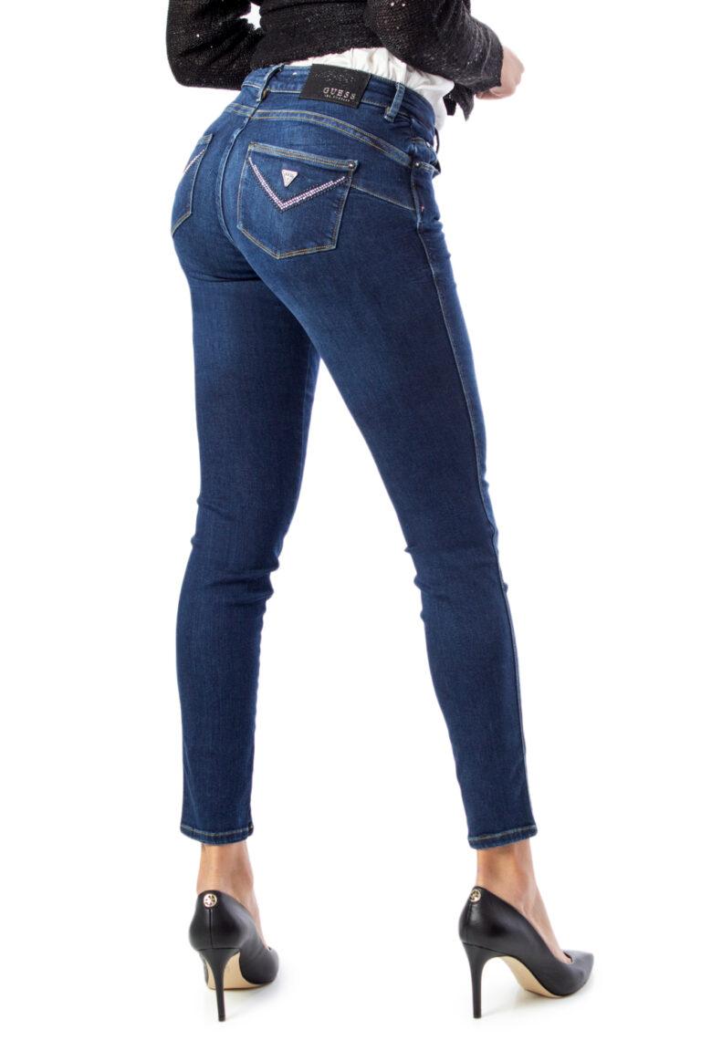 Jeans skinny Guess Ultra Curve Denim scuro - Foto 1