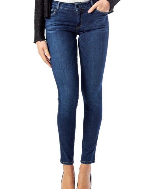 Jeans skinny Guess Ultra Curve Denim scuro - Foto 2