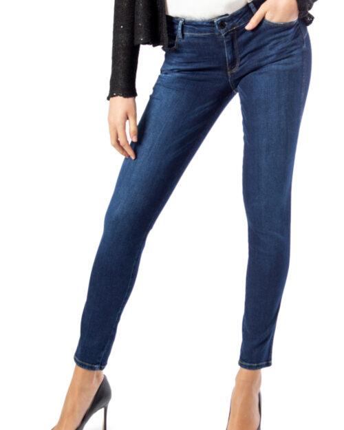 Jeans skinny Guess Ultra Curve Denim scuro - Foto 3