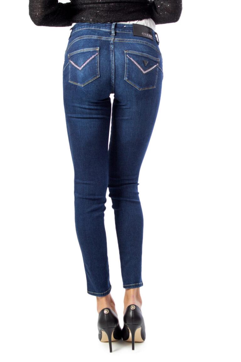 Jeans skinny Guess Ultra Curve Denim scuro - Foto 4