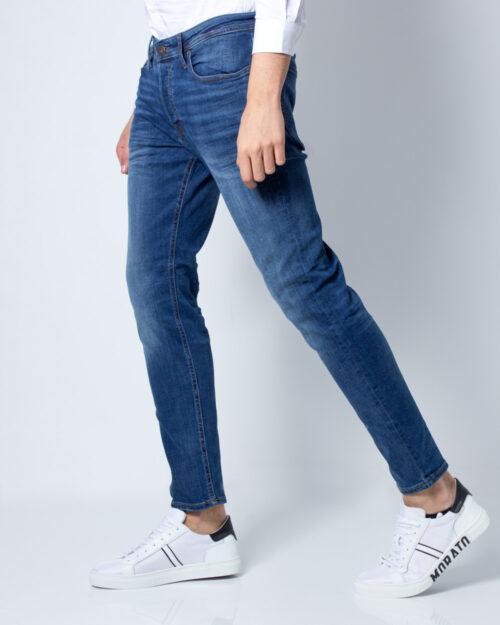 Jeans slim Jack Jones TIM ORIGINAL Blue Denim Scuro - Foto 1