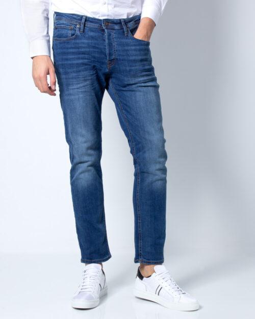 Jeans slim Jack Jones TIM ORIGINAL Blue Denim Scuro - Foto 2