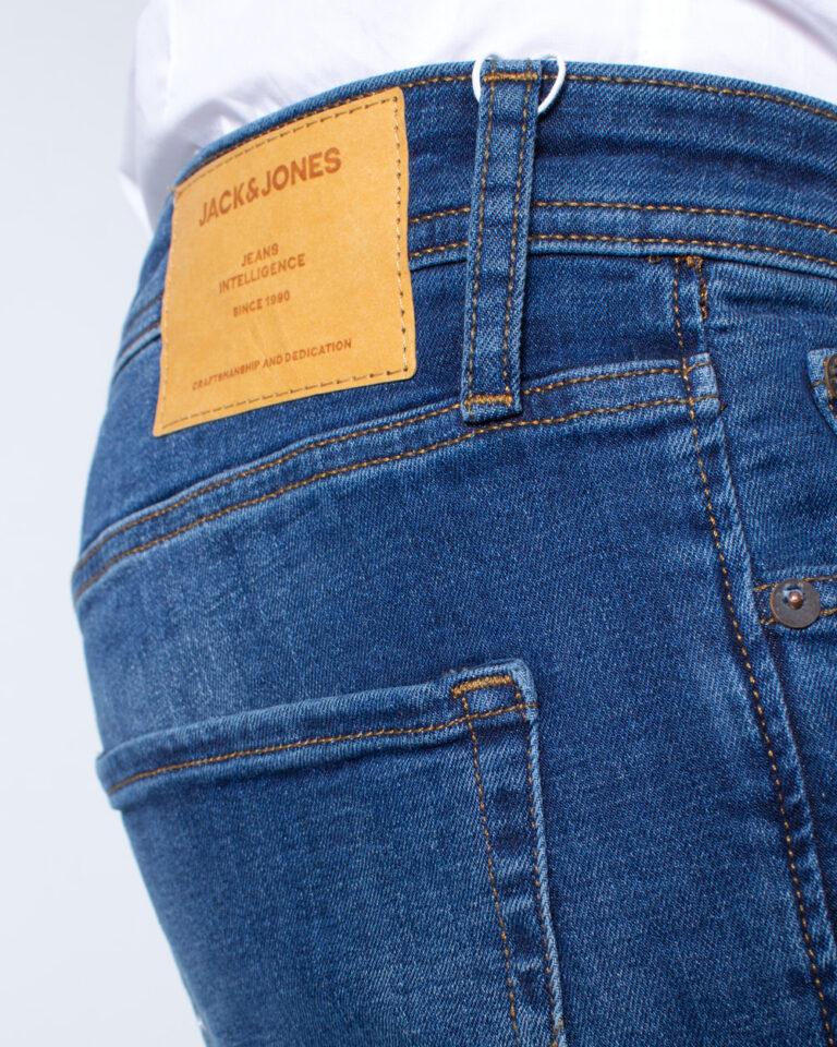 Jeans slim Jack Jones TIM ORIGINAL Blue Denim Scuro - Foto 4