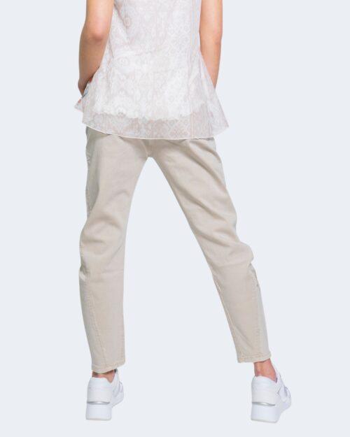Jeans larghi Desigual KIM Beige - Foto 3